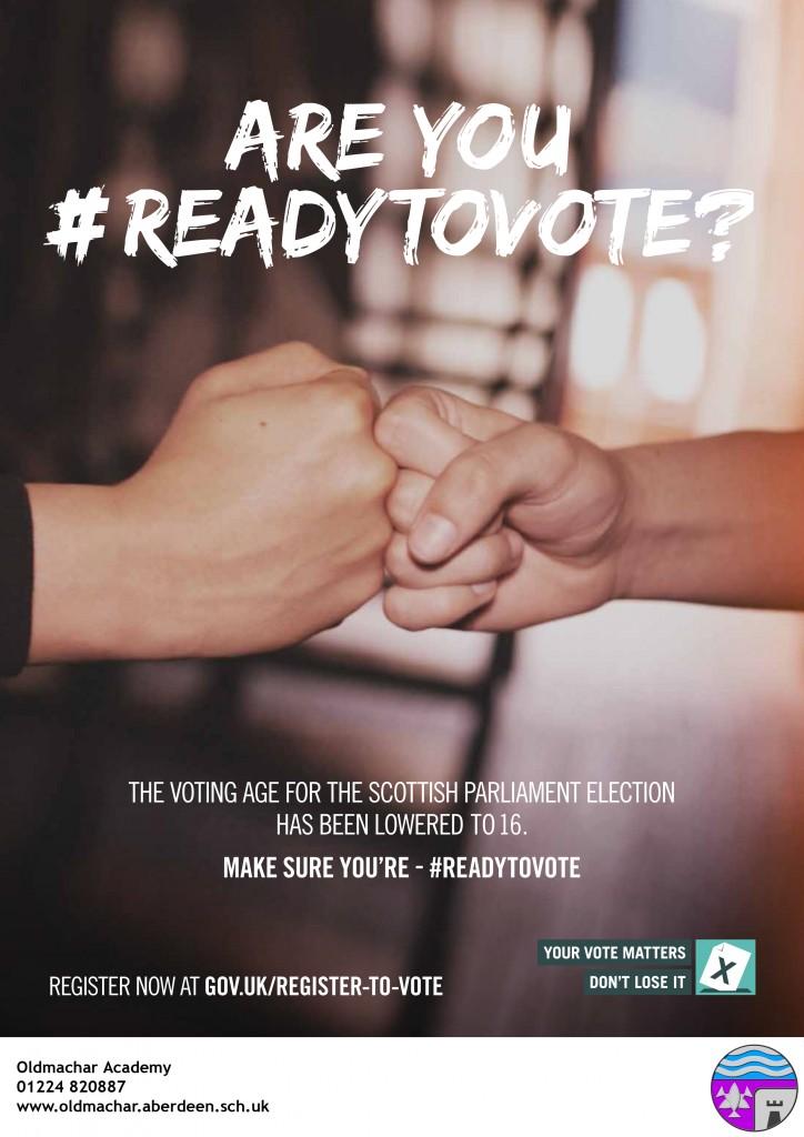Get ready to vote - Oldmachar