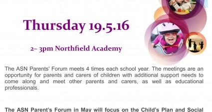 ASN Parents' forum May 2016 3