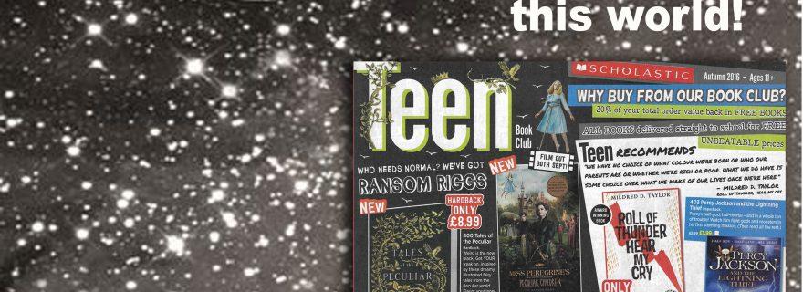 Teen Book Club magazine Autumn 2016 1