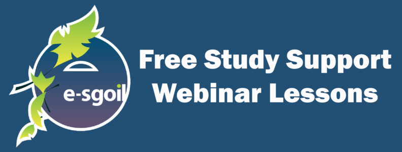 Free, Live Study Support Webinar Lessons