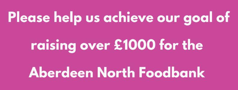 Fundraising for Aberdeen North Foodbank
