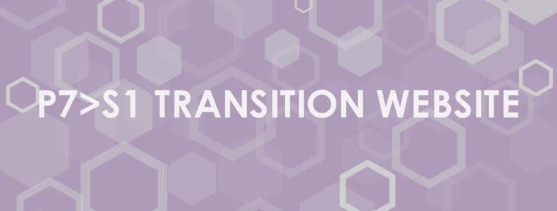 Oldmachar P7>S1 Transition Website